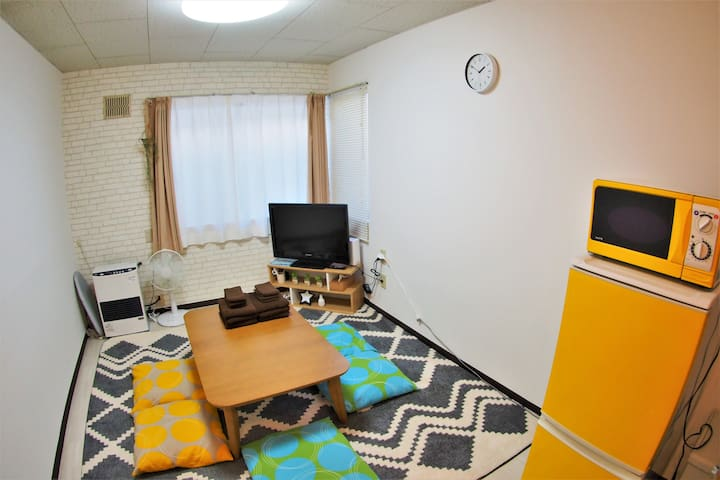 [Gran103] 2 floor apt., 6 min from Kita-24-jo Sta.
