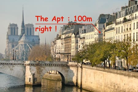SPECIAL OFFER!Apt Notre-Dame Island - Paris - Daire