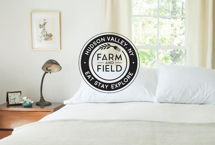 Farm stay on FARM&FIELD's 10 acre homestead
