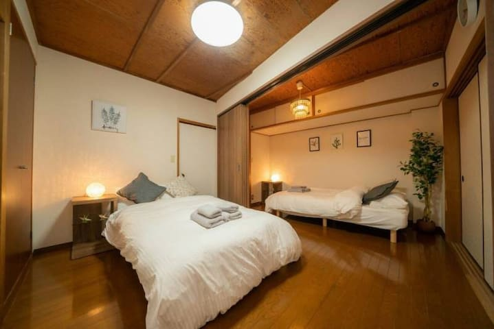 Max 7pp/5min from Station♪/Easy access to Airport