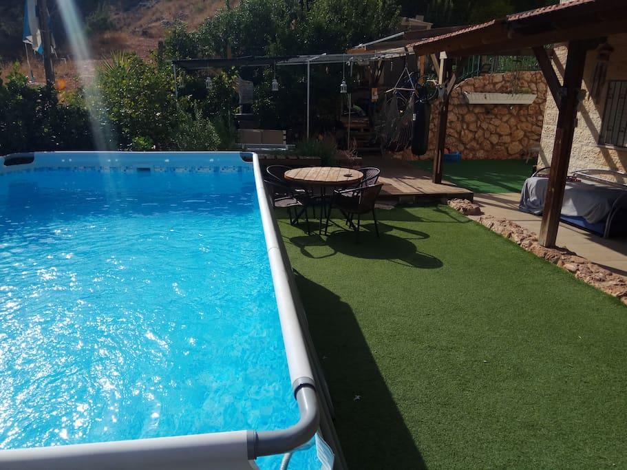 New huge swimming pool