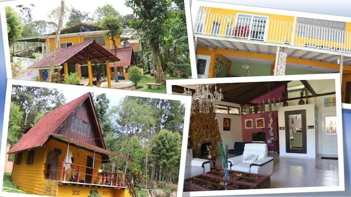 Wide&counfort Mountain House in Cerro Azul, Panama