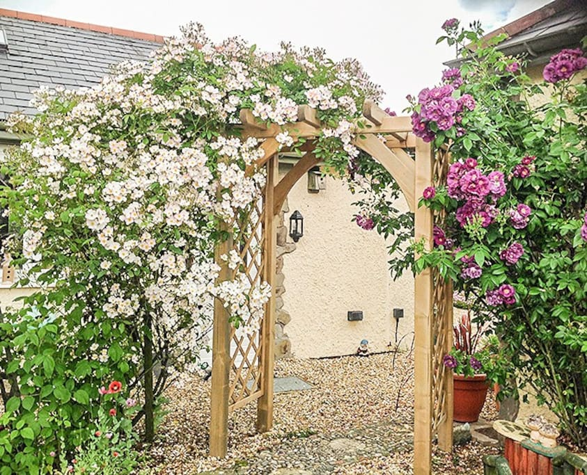 Archway in Garden, Summertime