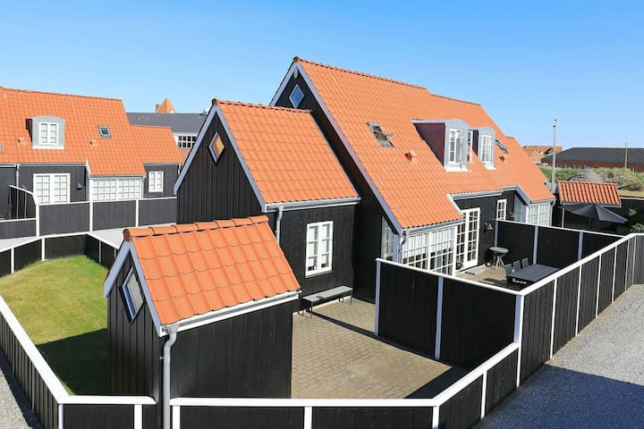 Gemütliches Ferienhaus in Jütland mit Whirlpool
