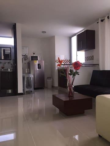 Apartamento piscina jacuzzi gimnasio y parqueadero - Quindio - Flat