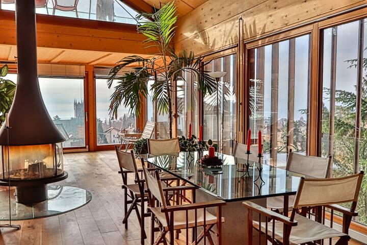 Villa individuelle avec vue lac panoramique
