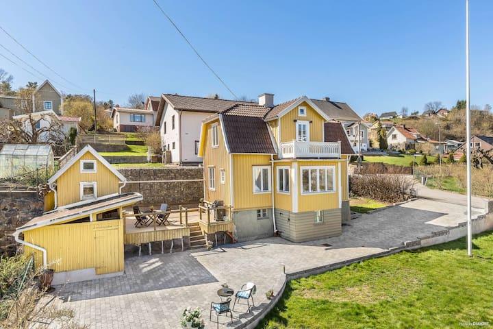 Mysigt hus nära Göteborgs centrum