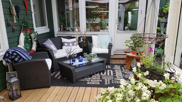 Rum i härlig villa nära Uppsala