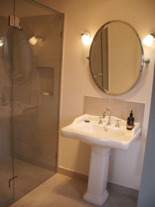 Beautifully appointed ensuite.