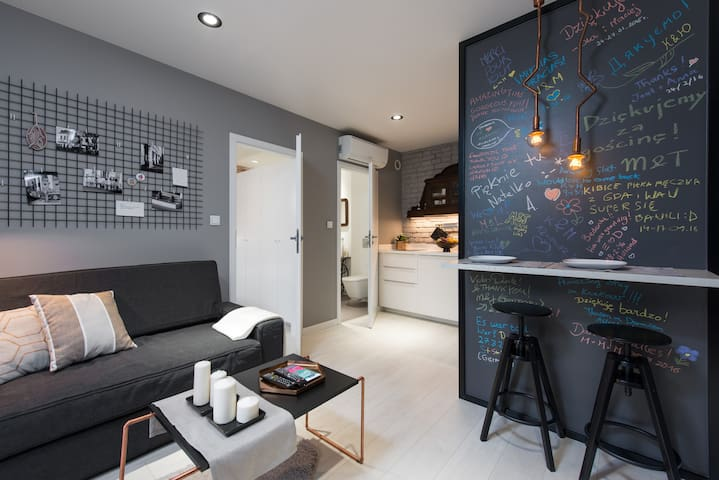 Designer apartment, Jewish district - Krakov - Daire