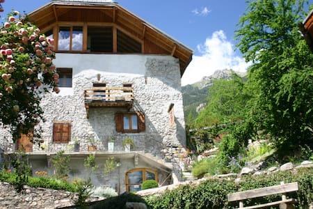 Les chambres de la Maison du Guil - Eygliers - Guesthouse
