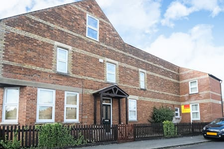 Spacious Family Flat close to Cowley Road, Oxford - 牛津 - 公寓