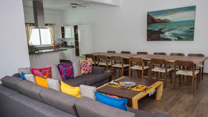 Luxury Penthouse Chema a 2 minutos de la playa