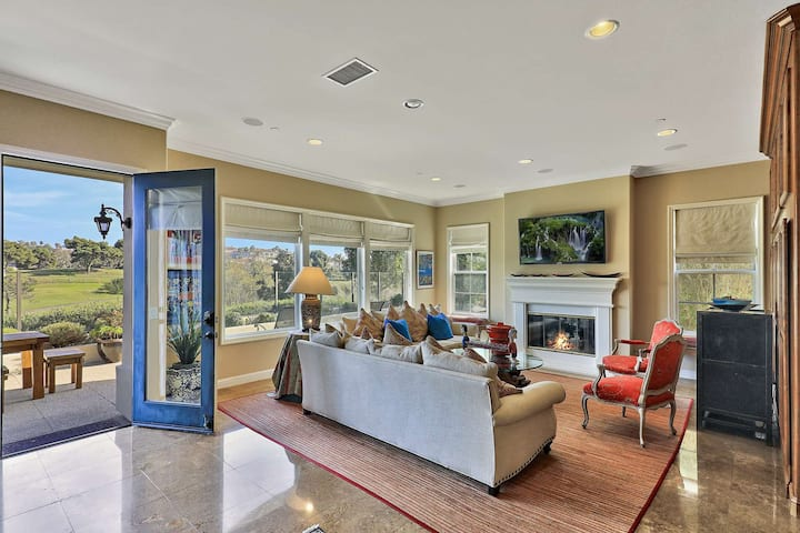 Golf Course View Home near Salt Creek Beach, Gated Community, Meticulously Decorated!