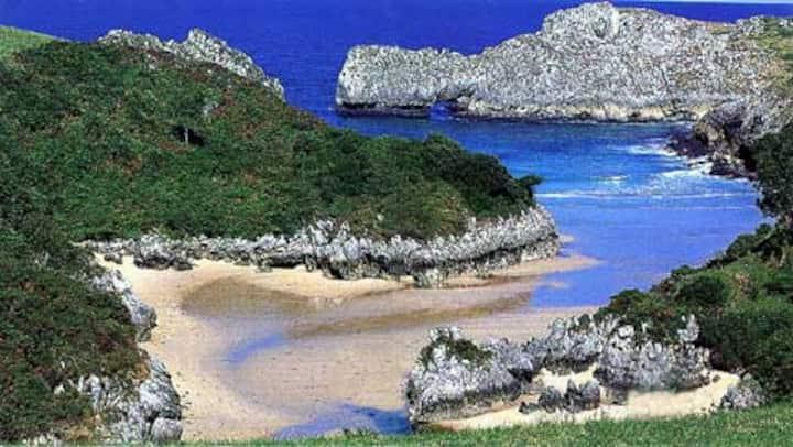 Casa en zona tranquila con preciosas vistas al mar