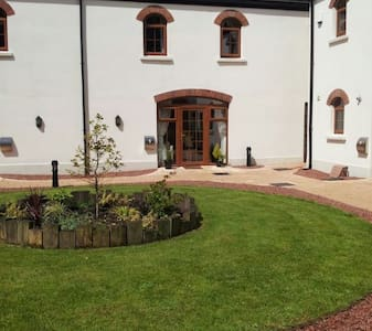The Courtyard at 5 Gortaclee Court  is gated. - Cushendall