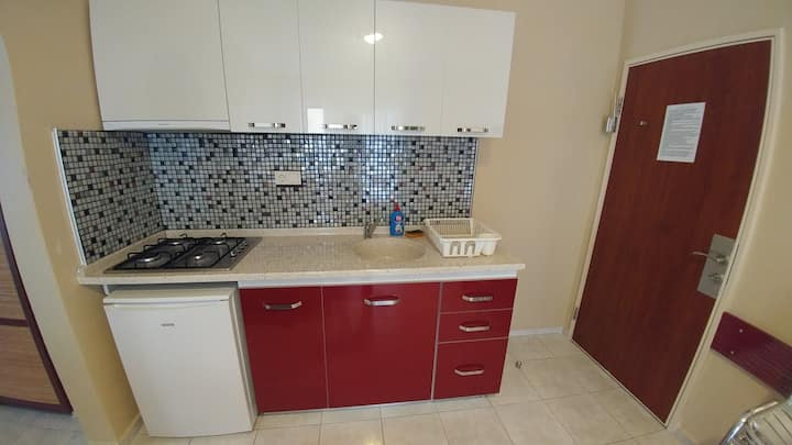 Apartments for 2 or 3 people in Marmaris