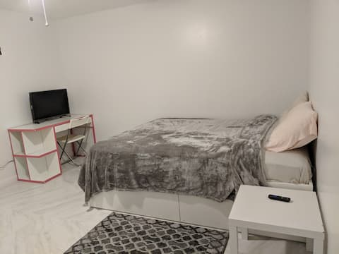 Bedroom with TV, WiFi, Netflix, Parking near DC