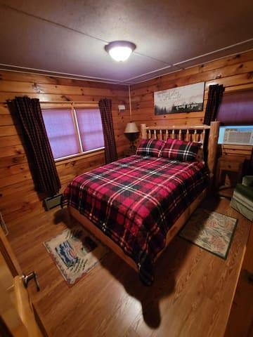 Bedroom #1 with the queen bed