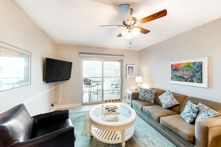 8th Floor Condo On Pensacola Beach, Gulf-View Balcony, Pool On-Site