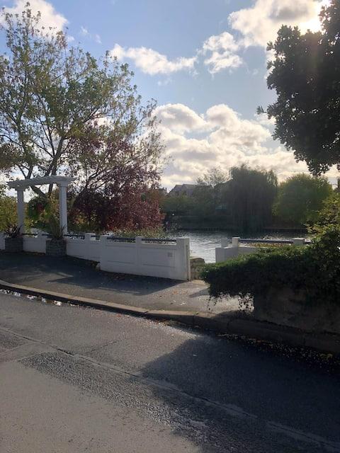 Studio bords de Marne 15 min de Paris avec RER A