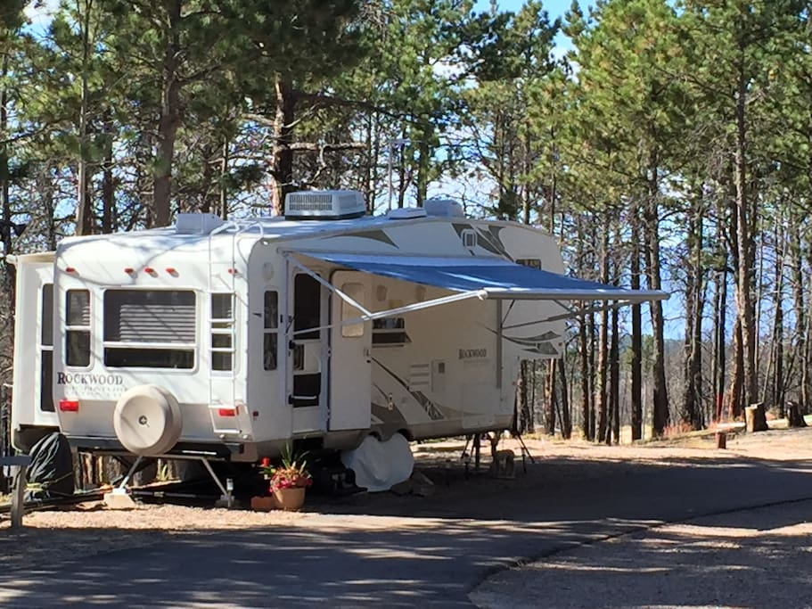 Our Forest River Rockwood RV.