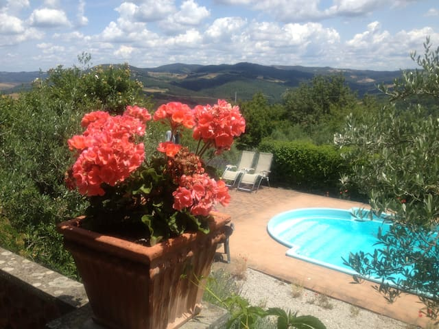 Secluded House-Stunning Views-2 Bath-Sleeps 4-WIFI - Volterra - Dům
