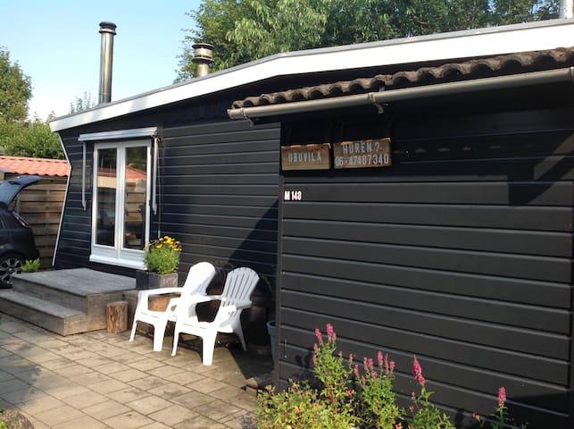 Heerlijk luxe chalet in Rijsterbos. Instapklaar.