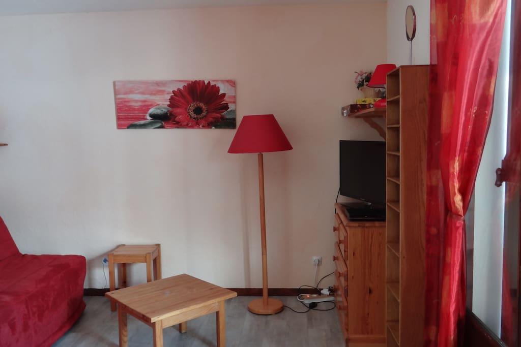 Pièce principale - côté salon