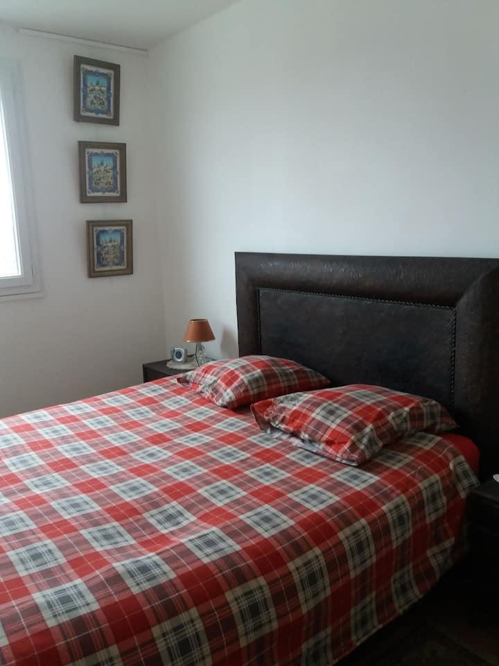 Chambre confortable à 5 minutes de Rouen