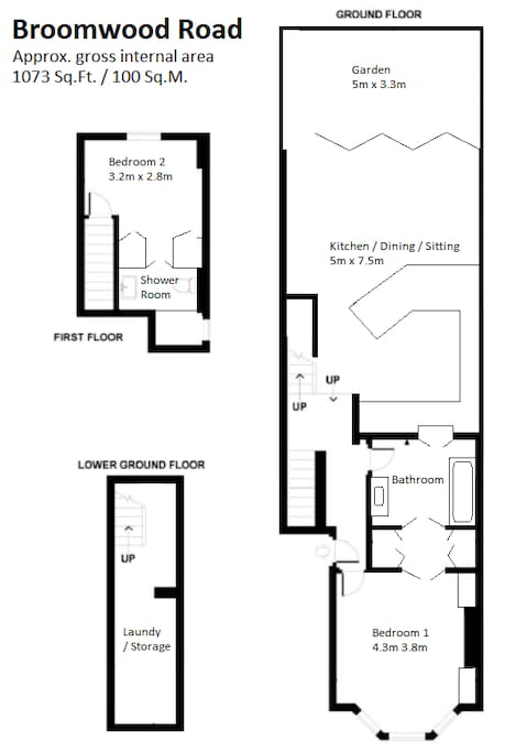 Floor Plan (newly renovated layout)