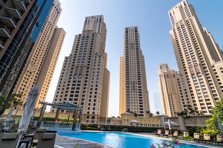 One BR Dubai Marina JBR Emaar property