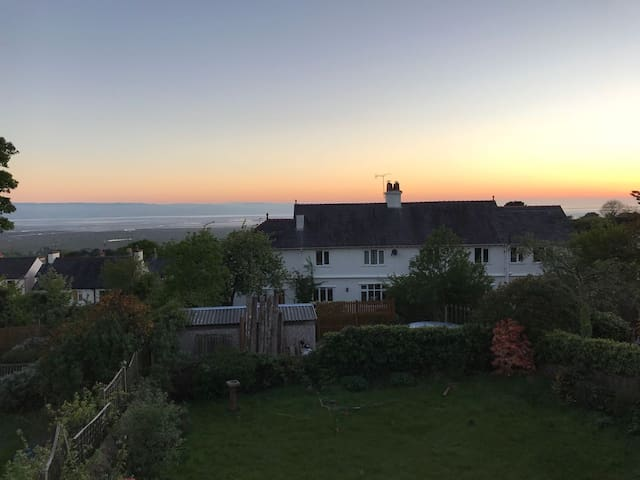 Wirral home with a view