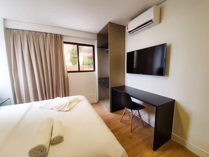 Easy Suites Ponta Negra 206 a 200m da praia