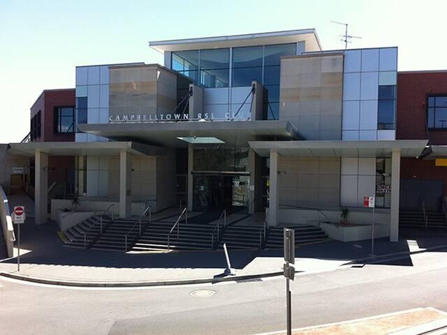 Campbelltown RSL Club.