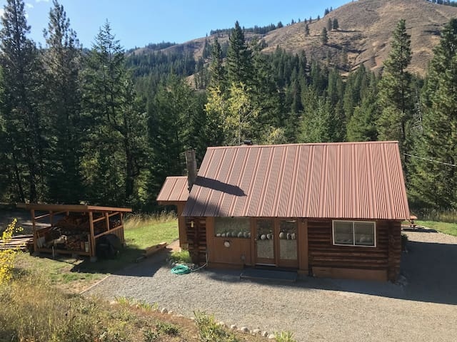 Rustic Cabin with Bunkhouses