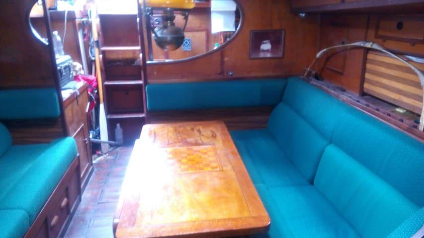 Grazioso, 40 ft Gaff sailing boat. - Chaguaramas - Boat