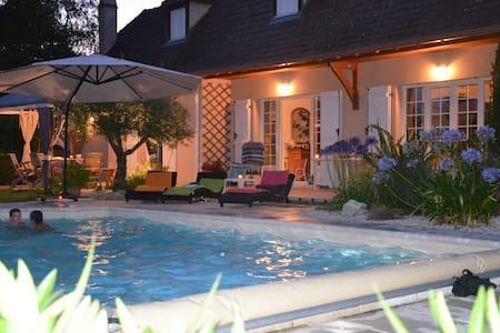 Maison Béarnaise avec Piscine proche PAU PYRENEES - Sauvagnon - Hus