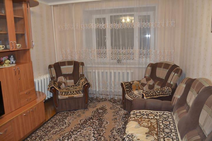 2 просторные комнаты в 3-х комнатной квартире. - Velikiy Ustyug - Apartament