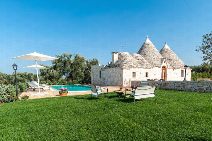Trulli Francisto: Authentic Historic Trullo