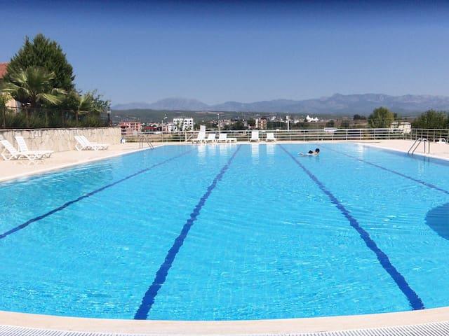 havuzlu aile ortamıbahceli rahat - Çolaklı Belediyesi - Casa de camp