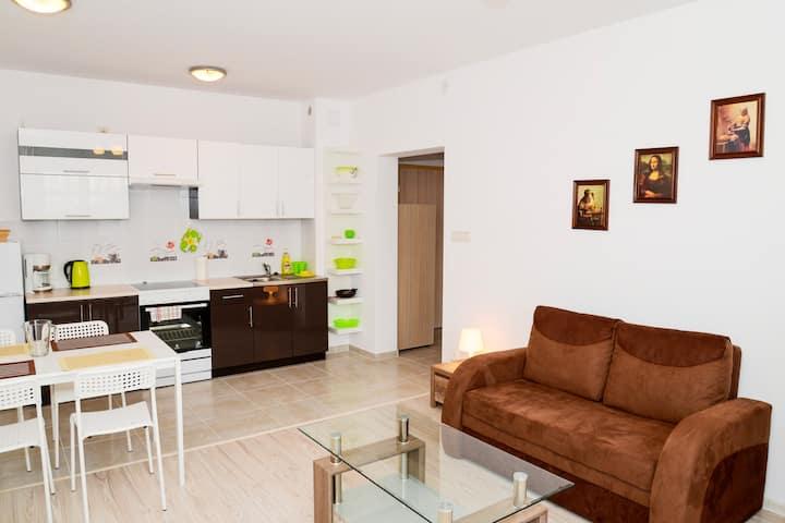 Sucha 3 Apartament 14 dla 6 osób