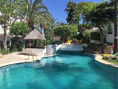 Marbella /Golden Beach: Appartement Luxe /Vue Mer