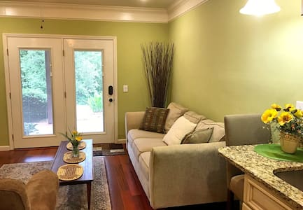 Lovely Garden Apartment Suite - Ooltewah - Daire