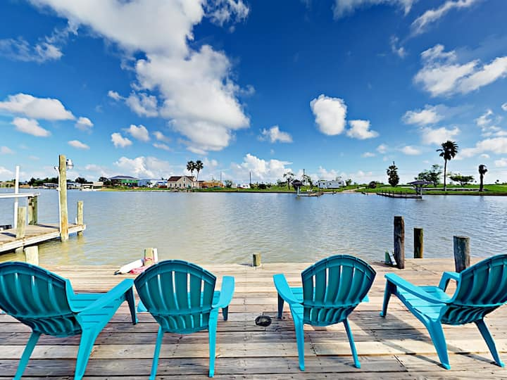 Waterfront Gem with Private Boat Dock on Salt Lake