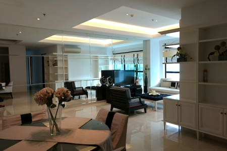 Luxury 3 bedroom apartment - jakarta - Apartmen