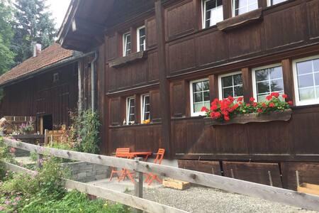 Wohnung in altem Appenzeller Bauernhaus