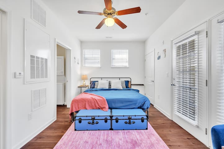 King sized bed for your comfort and a great night's sleep