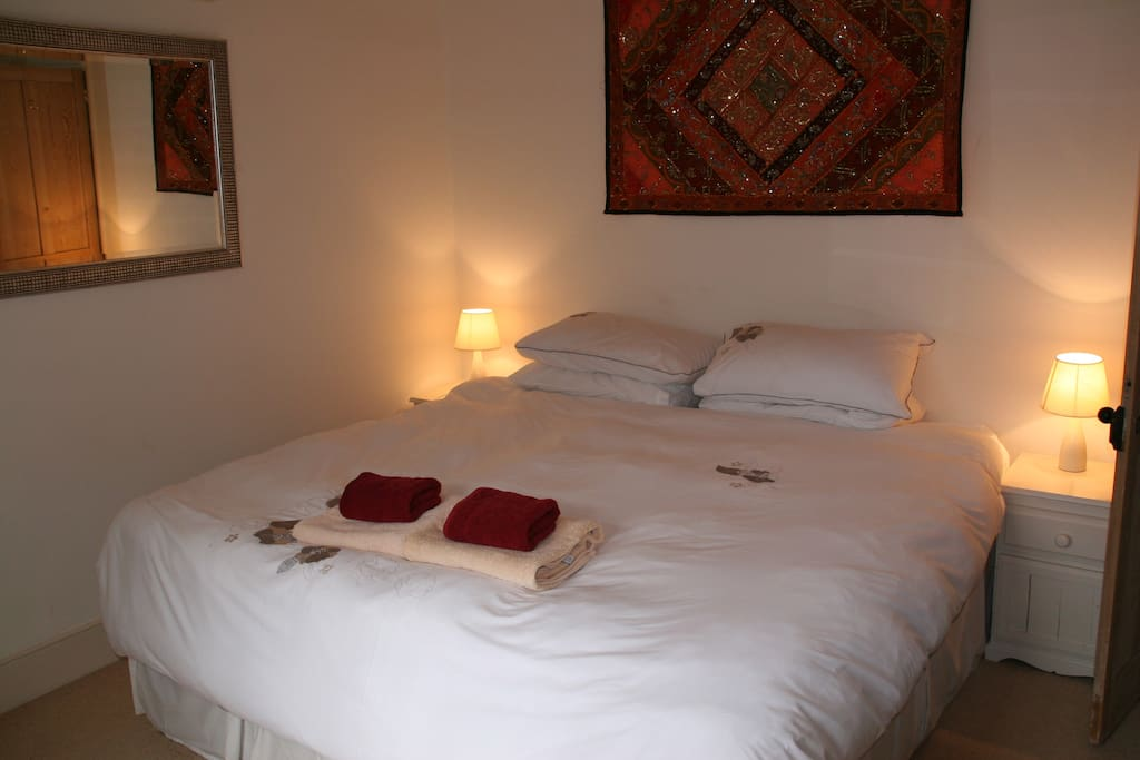 Bedroom 2, can be single beds too.