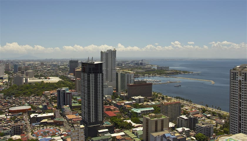 Magnificent View On Manila Bay - Manila  - Huoneisto